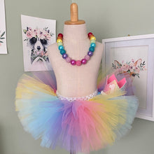 Cake Smash Outfit - First Birthday Deluxe Tutu Rainbow Bundle