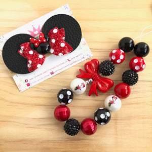 Mouse Ears Mini Bow