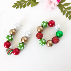 Christmas Bubblegum Jewellery - Jolly Christmas