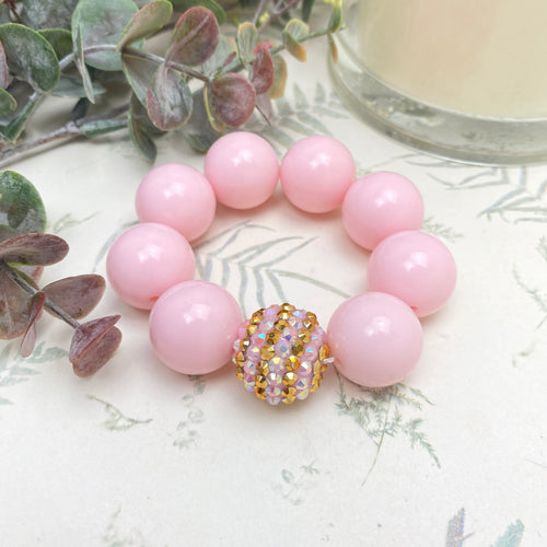 Bubblegum Bracelet - Perfect Pink
