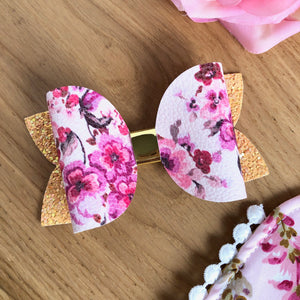 Calli Bow - Pink Floral
