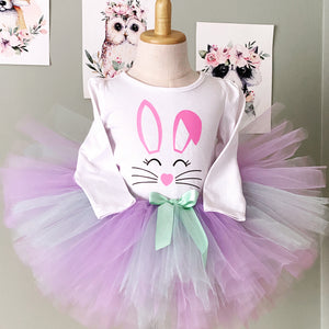 Deluxe Tutu - Lavender and Mint