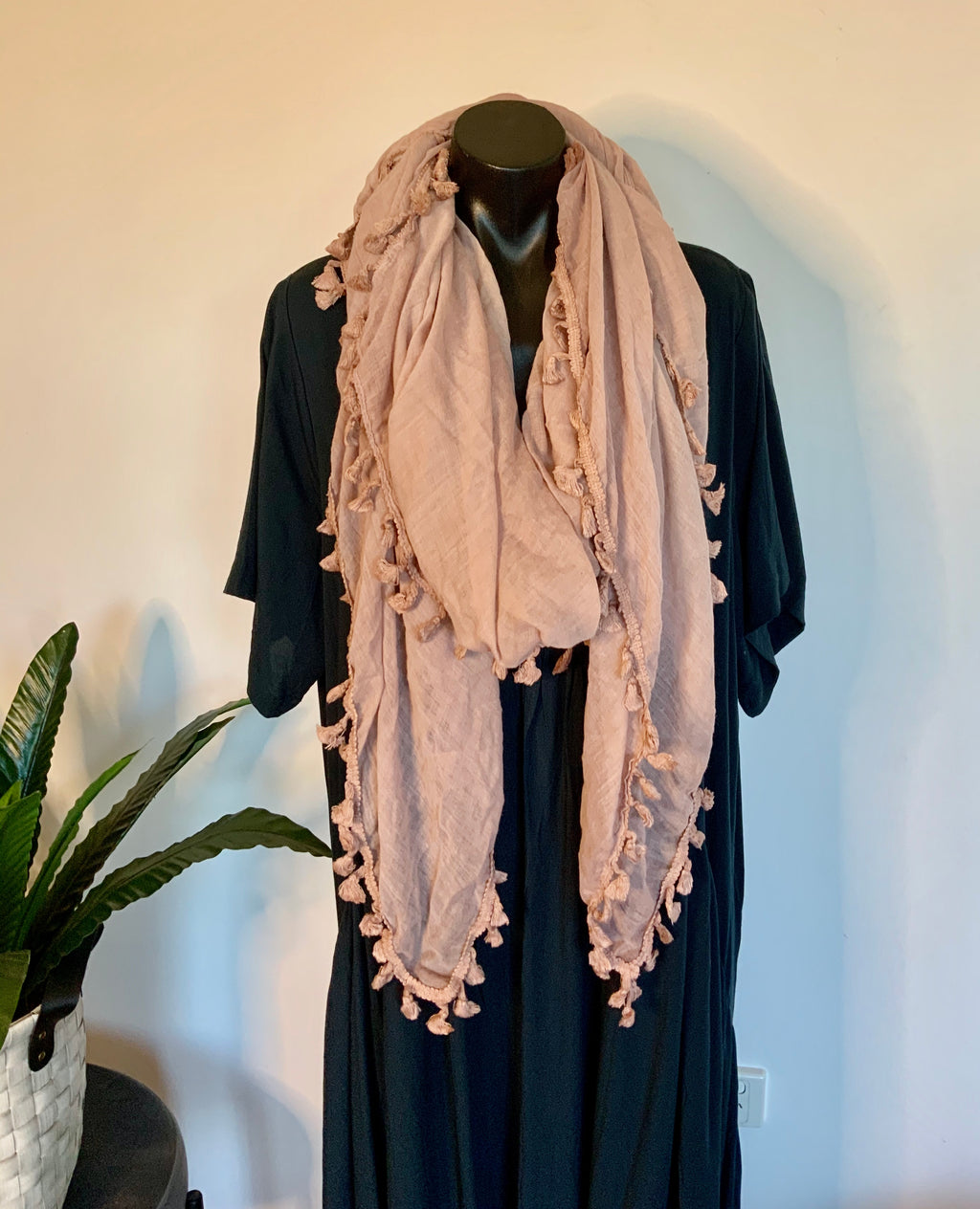JUST NOT A SCARF - vintage pink