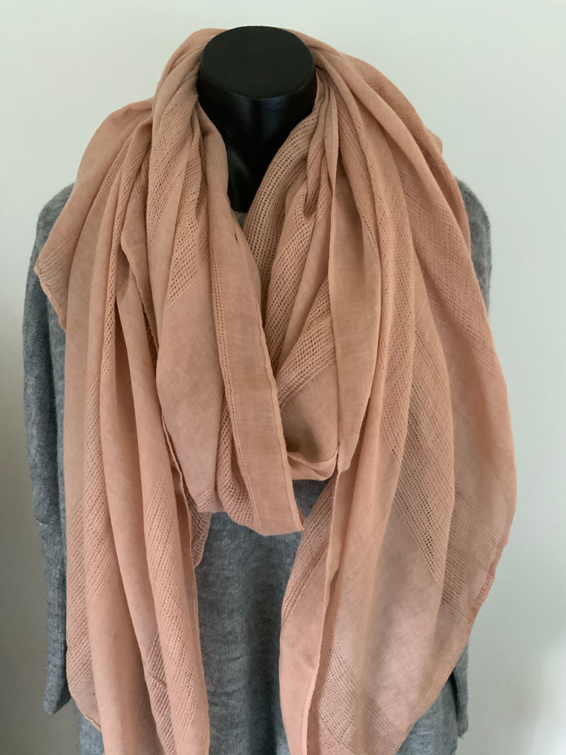 IS IT A SCARF - blush