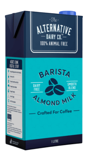 Alternative Dairy Almond Milk Carton : Containing 12 x 1L