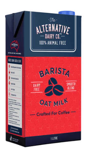 Alternative Dairy Oat Milk Carton : Containing 12 x 1L