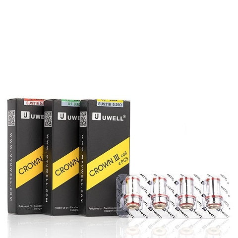 Uwell Crown 3 (III) Coil Packs - D & R Vape