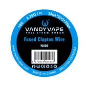 Vandy Vape Fused Clapton Wire - D & R Vape
