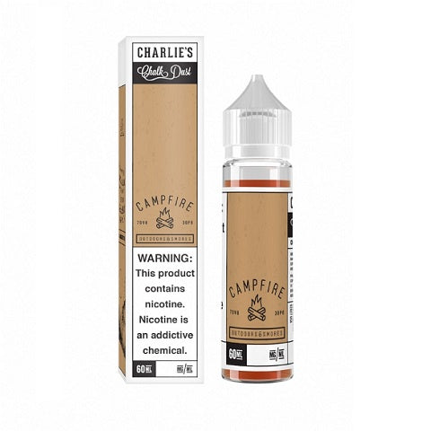 Charlies Chalk Campfire Smores / Toasted Marshmallow E-Liquid - D & R Vape