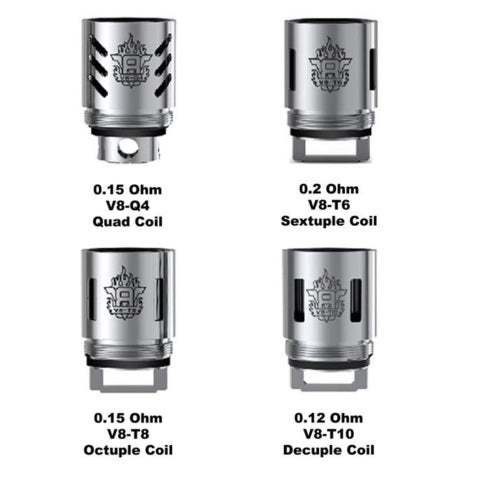 Smok TFV8 Cloud Beast Coil Packs - D & R Vape