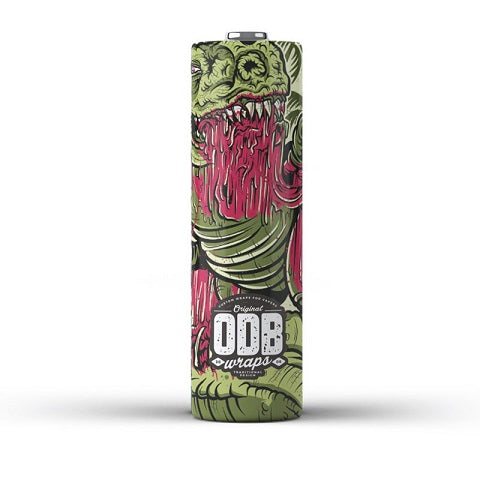 O.D.B 20700/21700 Battery Wraps - D & R Vape