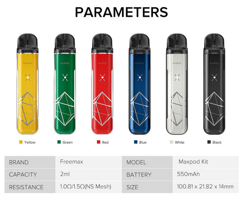 FREEMAX MAXPOD POD STARTER KIT