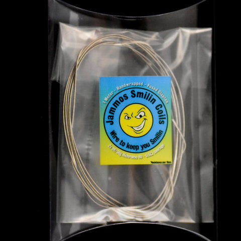 Jammos Smilin Coils 1 Meter Fused Clapton Wire - D & R Vape
