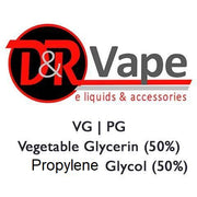 Vegetable Glycerin (VG)  Propylene Glycol (PG)