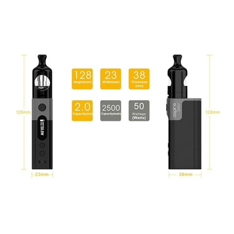 Aspire Zelos 50W Kit - D & R Vape