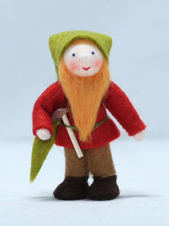 Forest Gnome with Hammer
