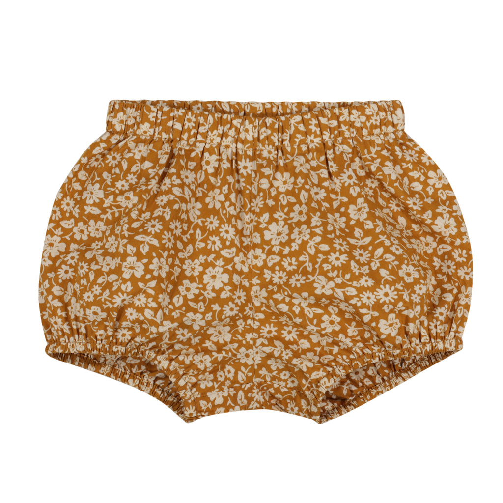 Poppy Bloomers Mustard Floral