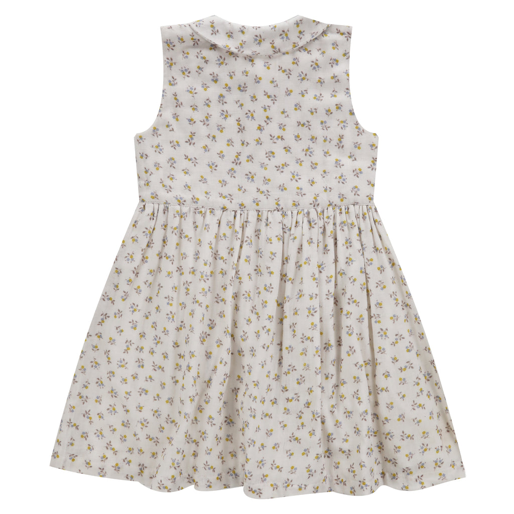 Maggie Dress Tiny Buttercup Floral