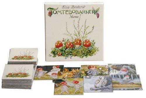 Elsa Beskow Children of the Forest Memory Game