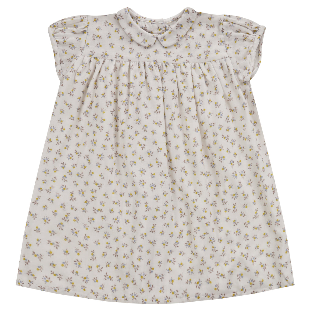 Hera Dress Tiny Buttercup Floral