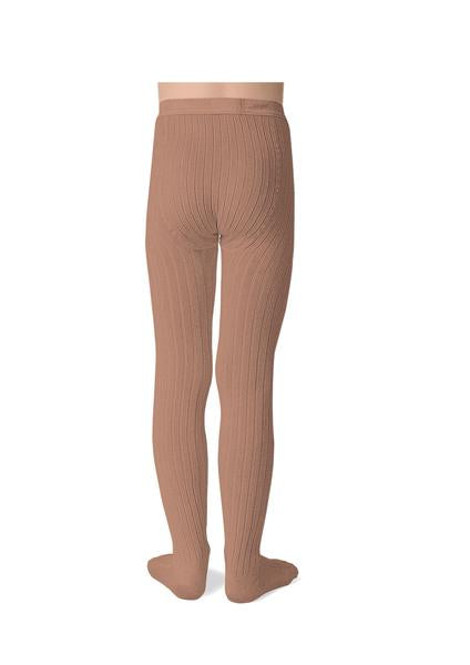 Ribbed Tights Rosewood