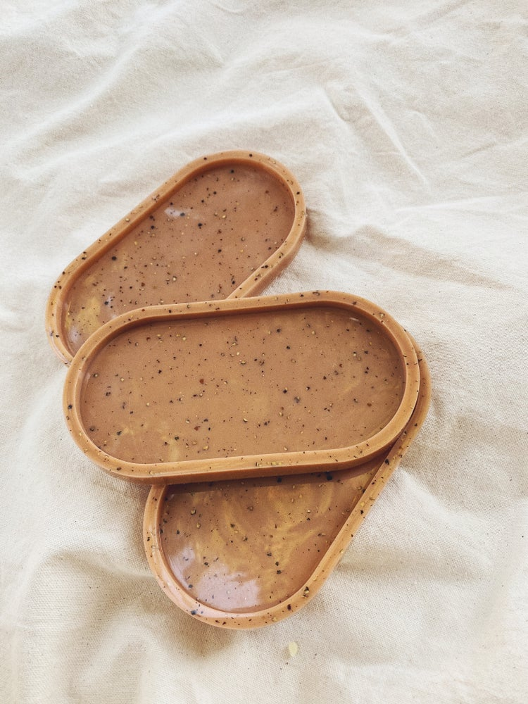speckled terracotta tray last one