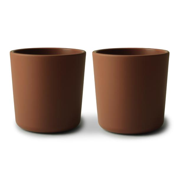 Dinnerware Cups, Set of 2 Caramel