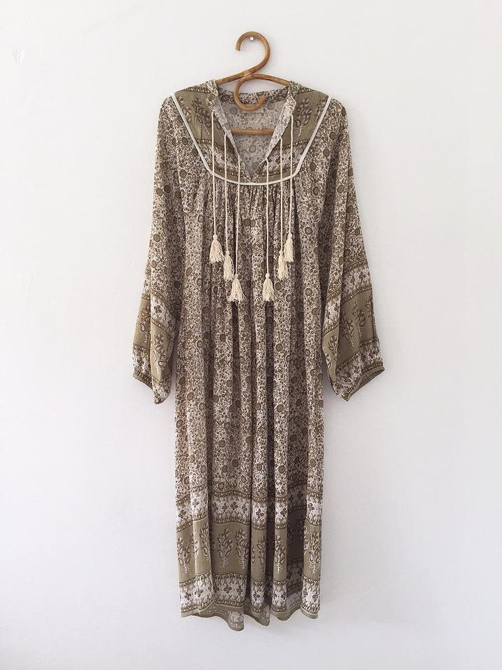 Women's Luna Dress Clay
