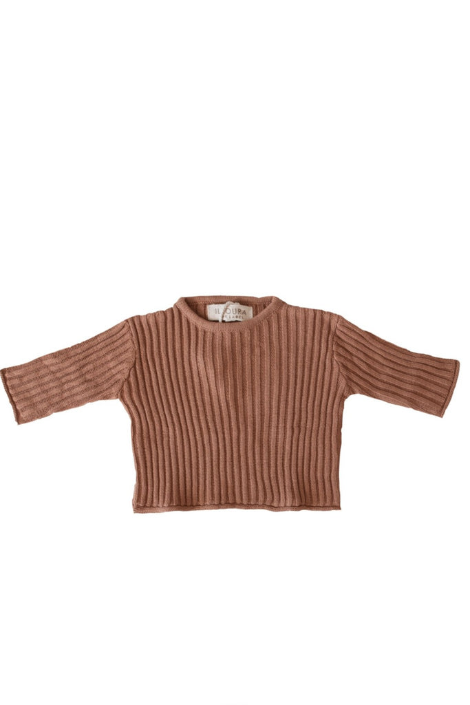 Essential Knit Jumper | Rust