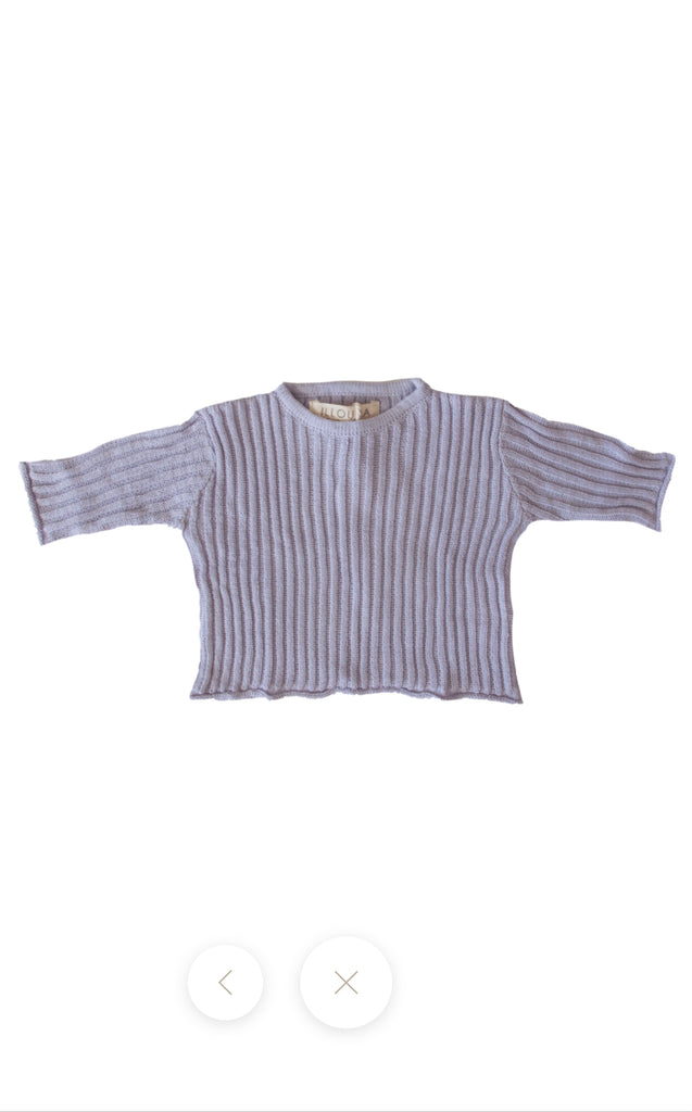 Essential Knit Jumper | Lilac