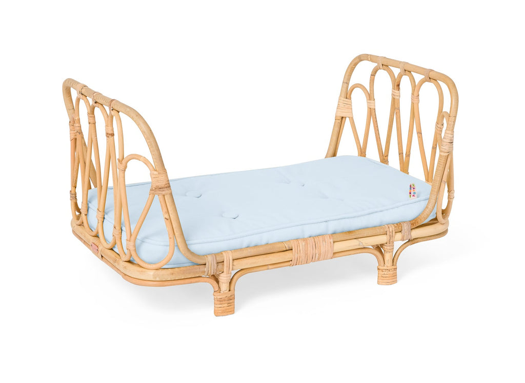 Rattan Day Bed Blue Last One