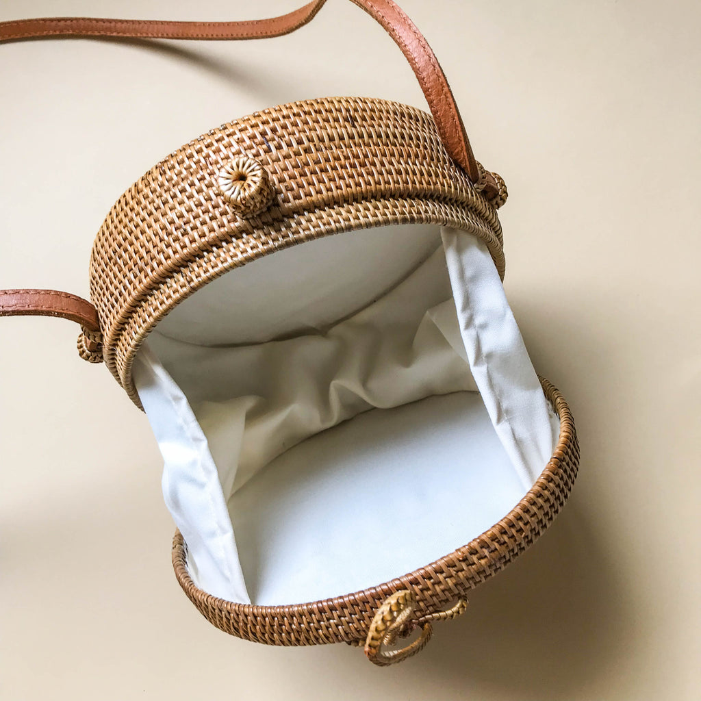 Mommy and Me Rattan Bag Set
