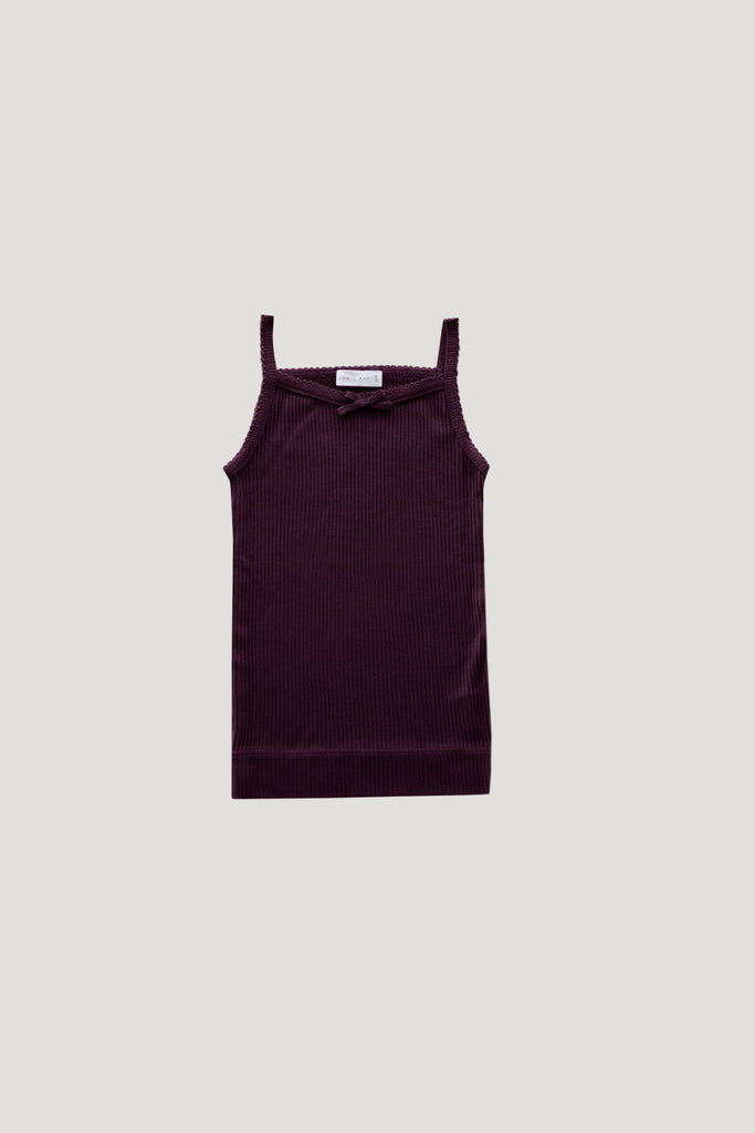 Singlet Top Mulberry