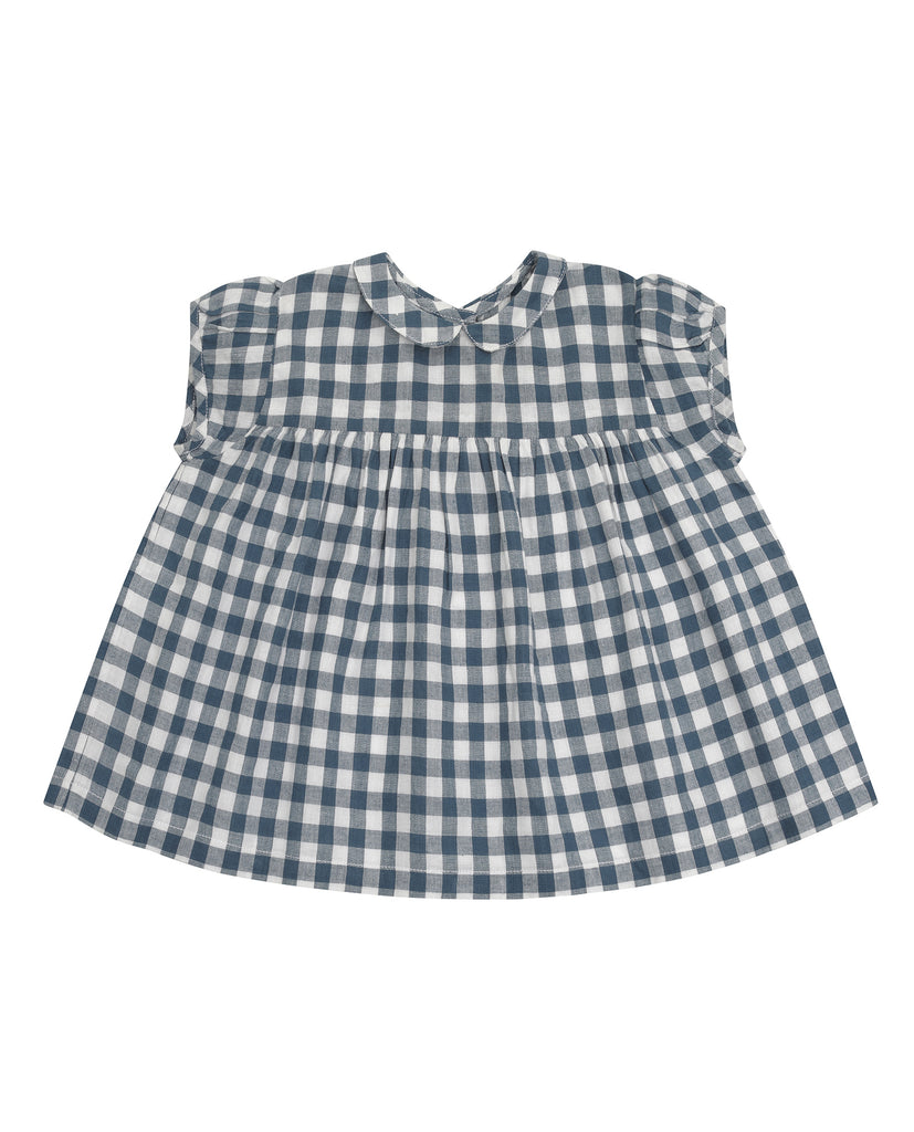 Juno Top Blue Gingham