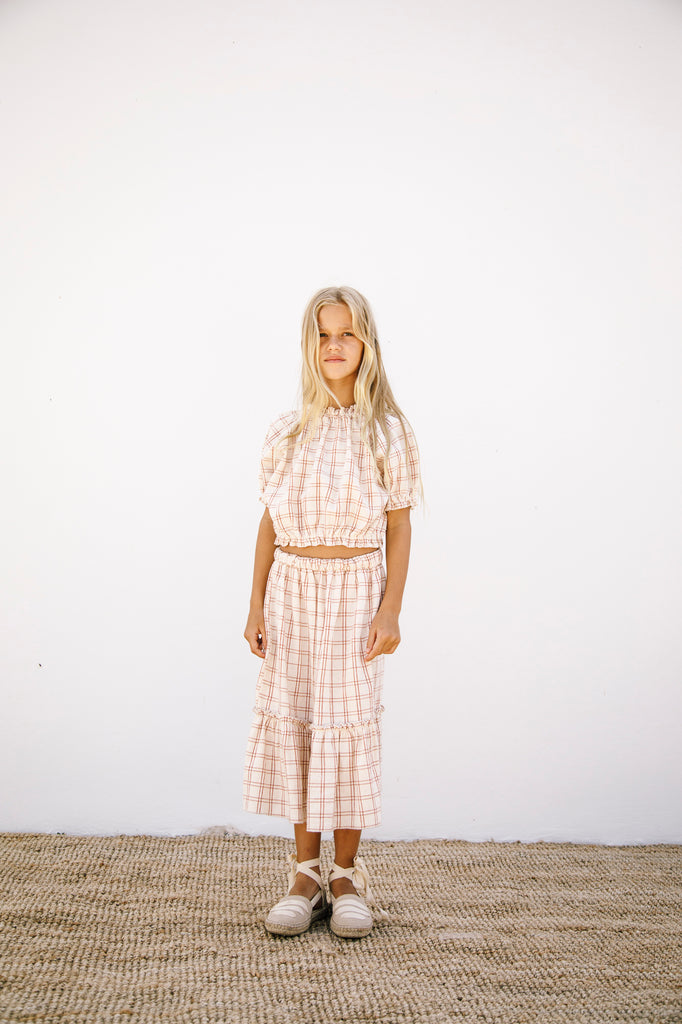 Josefine Blouse Rustic Check