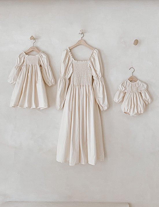 Women's Daisy Dress Cream