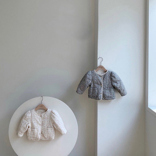 Reversible Puff Jacket Cream