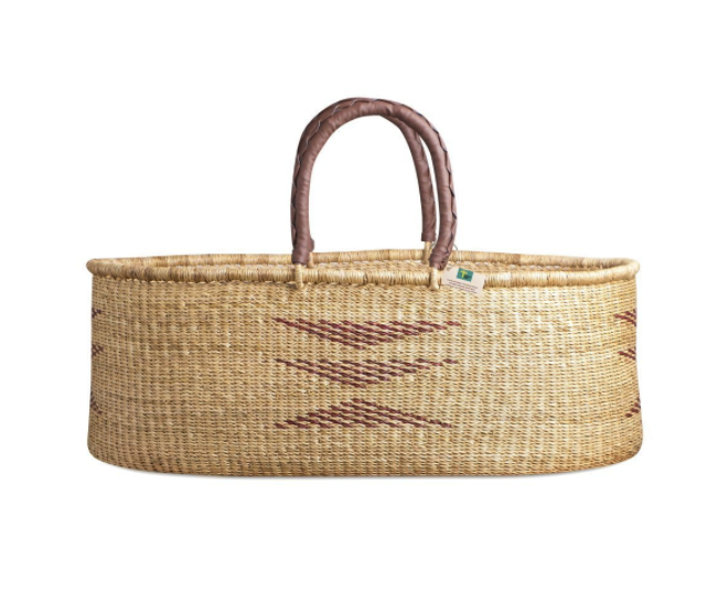 Nap and Pack Basket- Brown