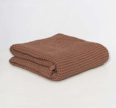 Waffle Blanket Brick Restocking in November