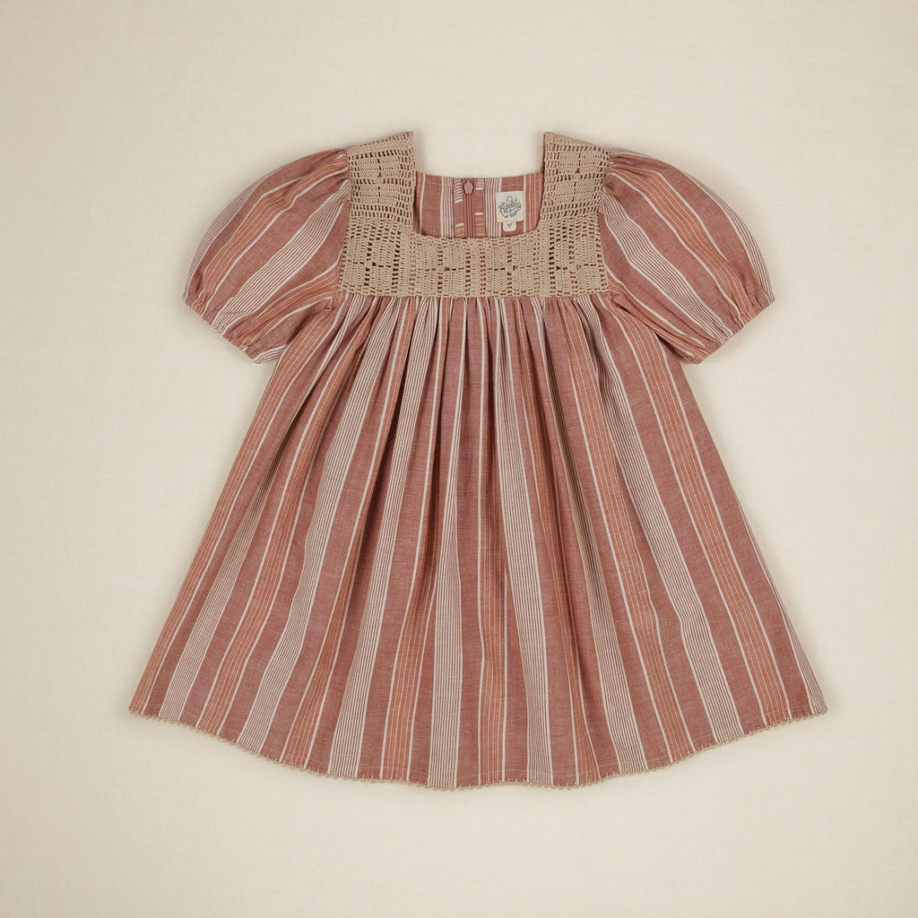TINA DRESS - RAINBOW STRIPE
