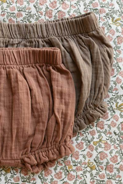 Daisy Shorts - Bronze