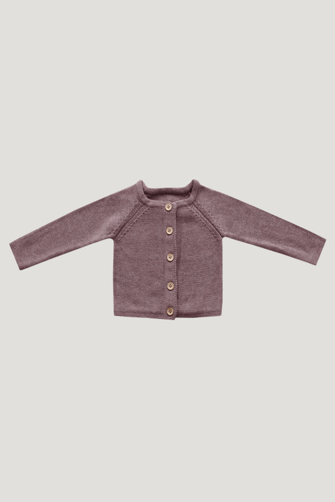Simple Cardigan Mauve