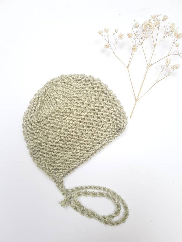 Knit Bonnet Sage