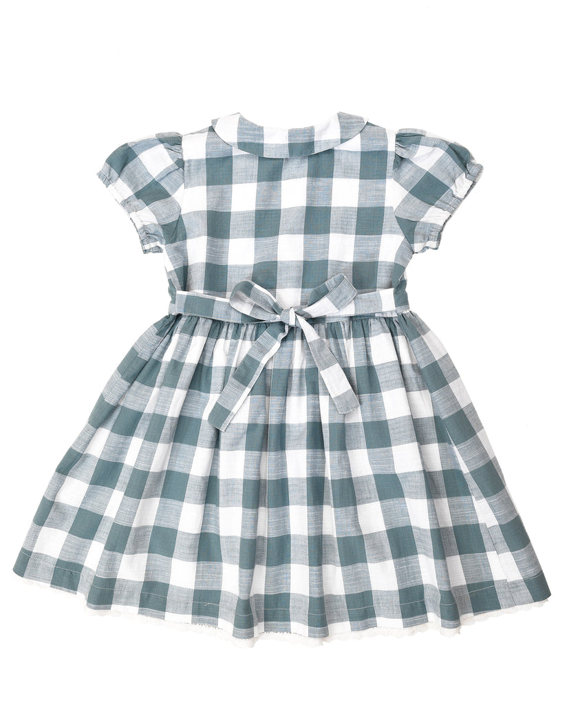 Audrey Dress Blue Gingham