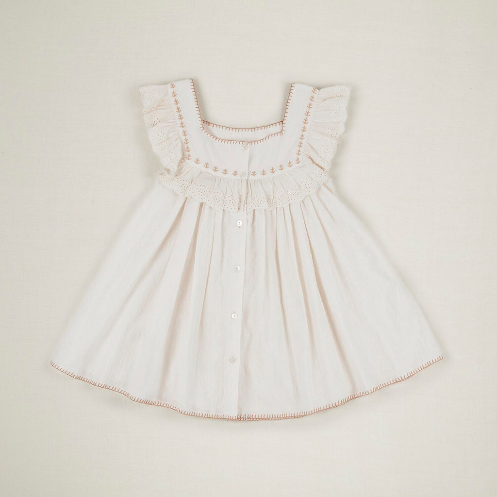 TIPPI  DRESS  IVORY Last One