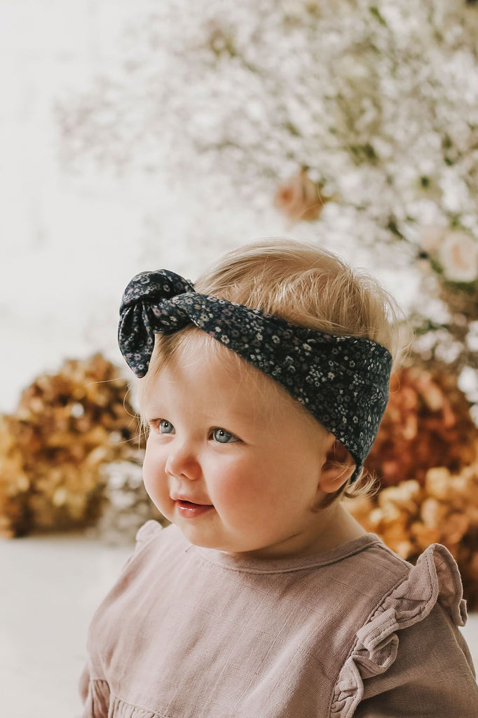 Headband Winter Floral