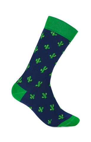Chaussettes Cactus Green