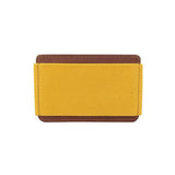"Porte cartes ""slim wallet"" jaune"