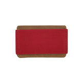 "Porte cartes ""slim wallet"" rouge"