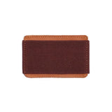 "Porte cartes ""slim wallet"" marron"